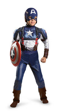 Captain America Kinderkostüm