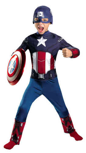 The Avengers Captain America Kinderkostüm