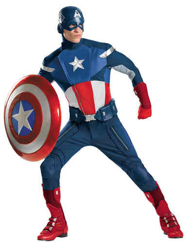 The Avengers Captain America Kostüm