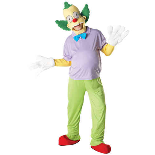 Krusty der Clown Kostüm